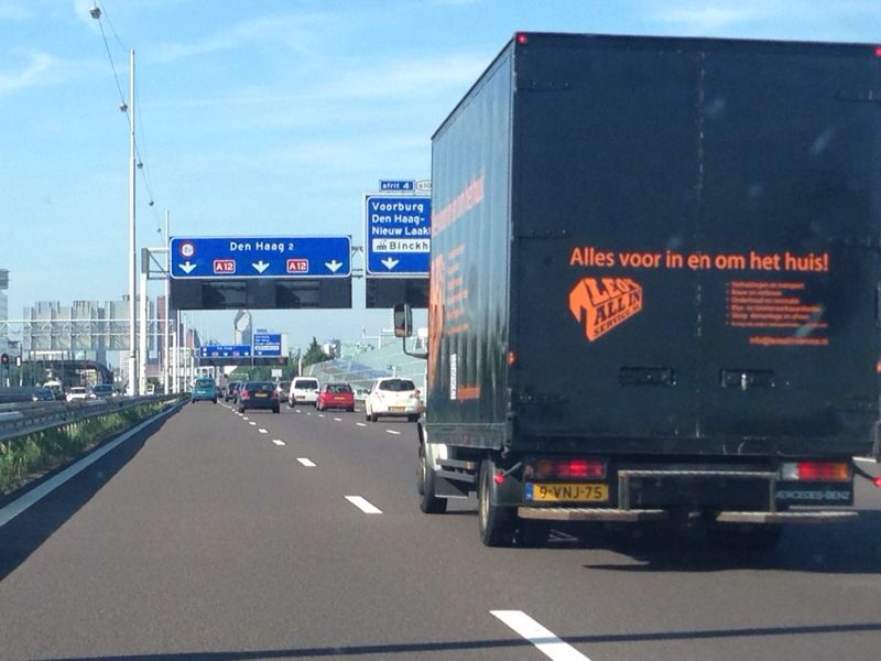 Weekend verhuizing Zoetermeer